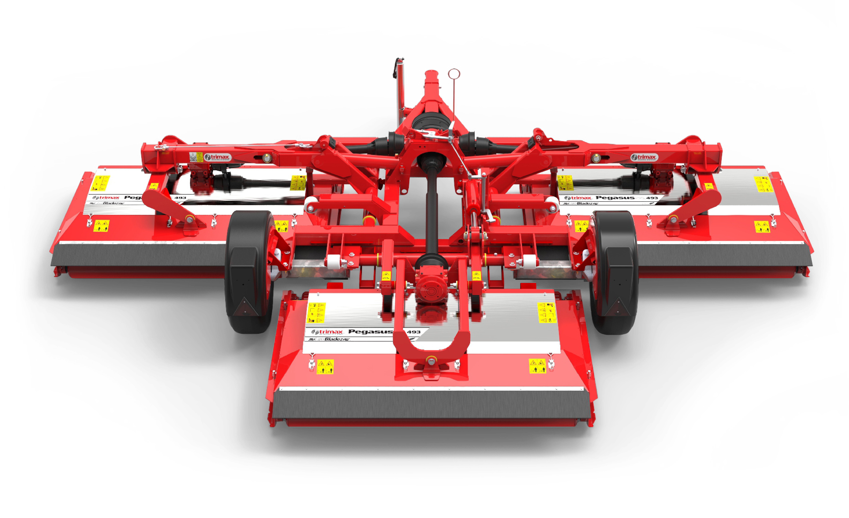 Pegasus S4-493 Lawn Mower Red