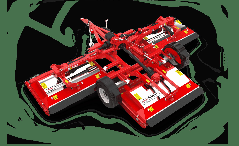 Pegasus S4 mower red