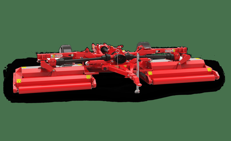 Pegasus S4 mower rear red