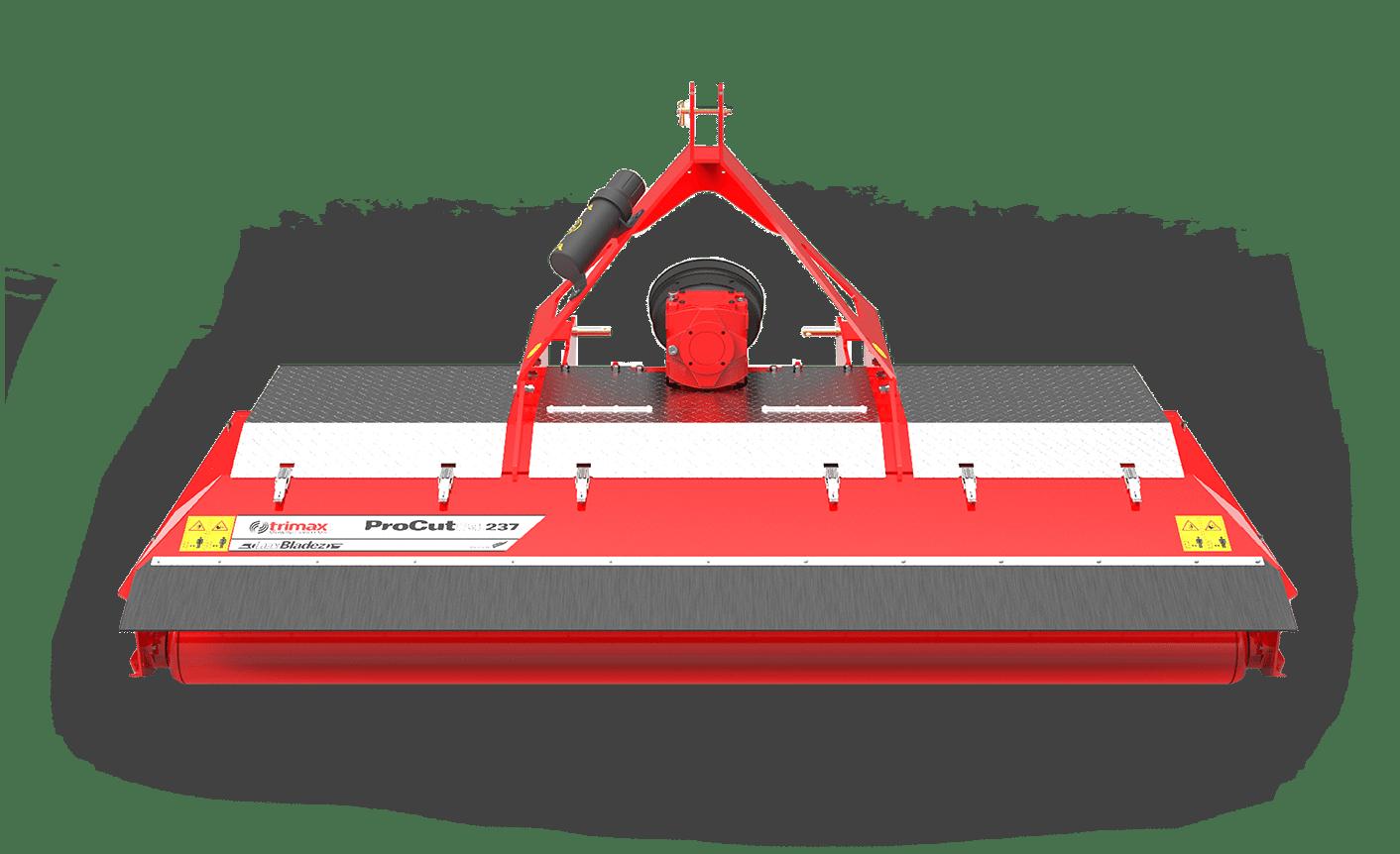 ProCut S4-237 lawn mower red