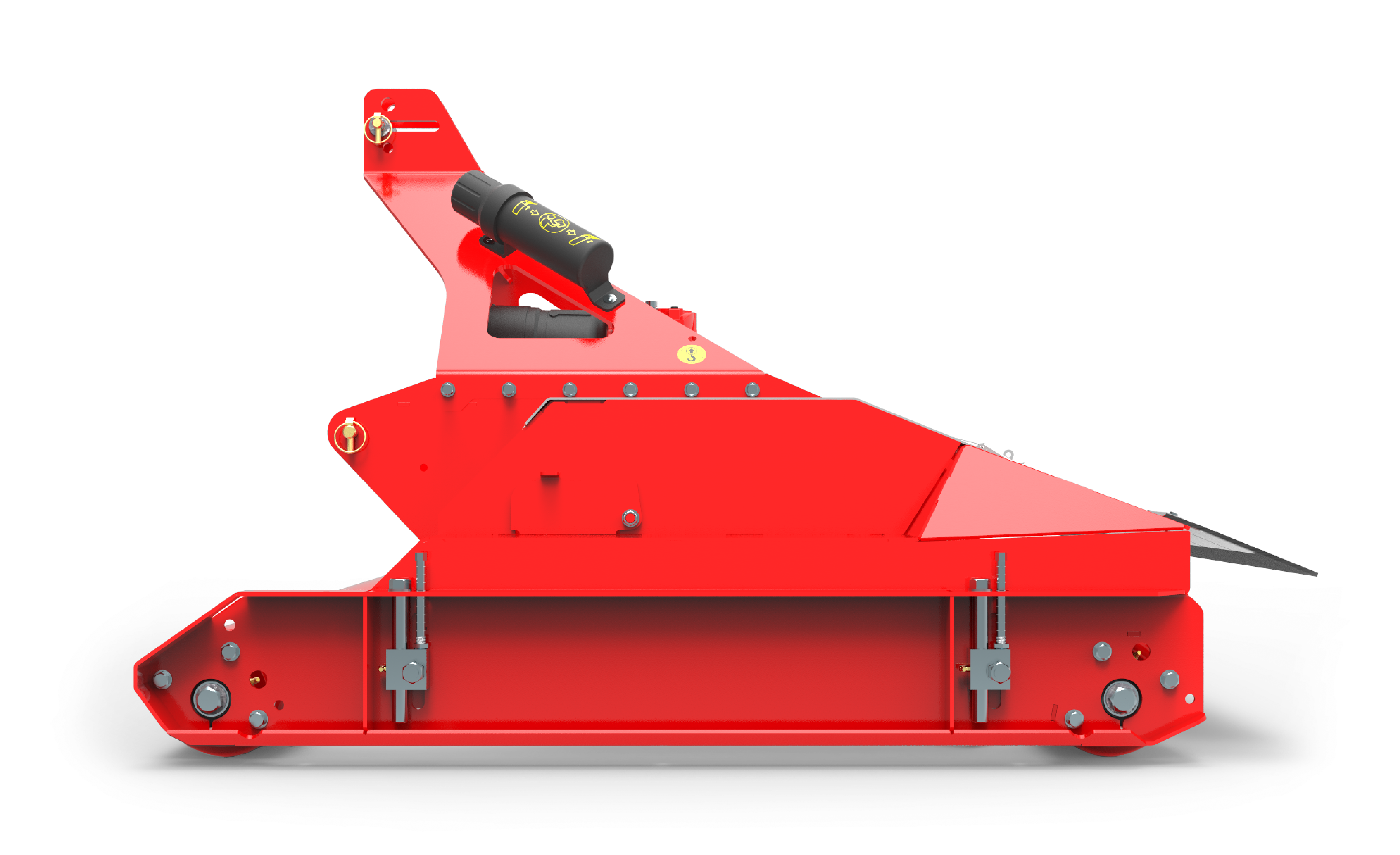 ProCut S4 Sideview Mower red