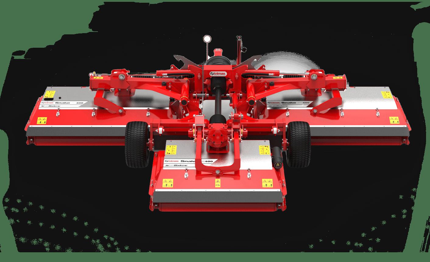 Snake S2 mower red