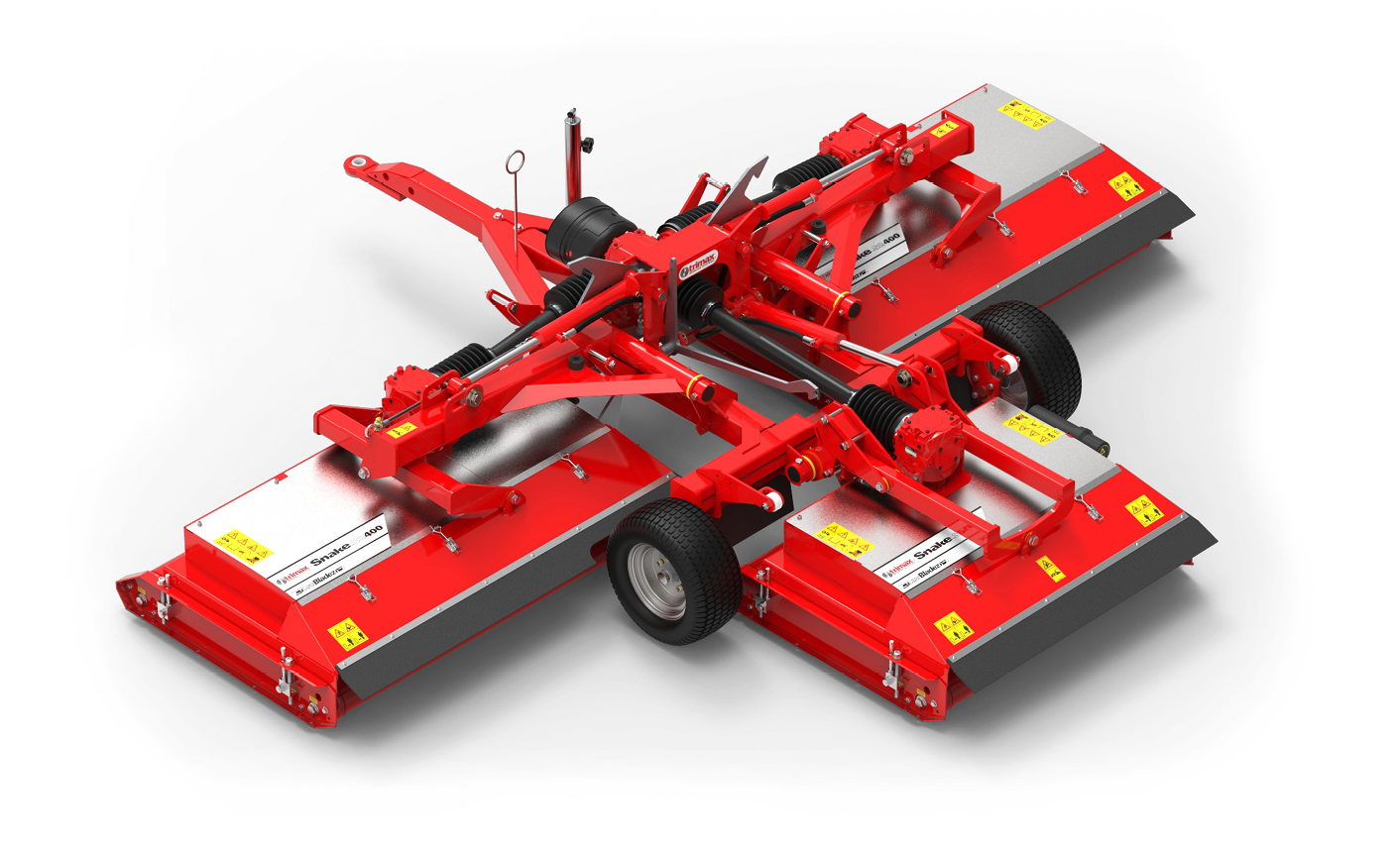 Snake S2 Lawn Mower Red